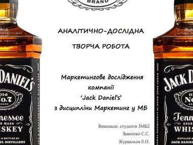 Jack Daniel's Marketing Research