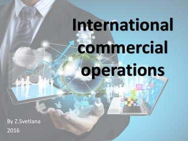 International Commercial Operations