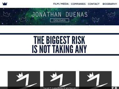 Jonathan Website Design