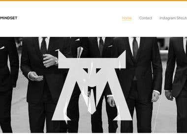 TigerMindset Website Design