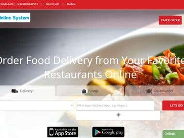 PHP Food Ordering Site: http://orderyourfoods.com/