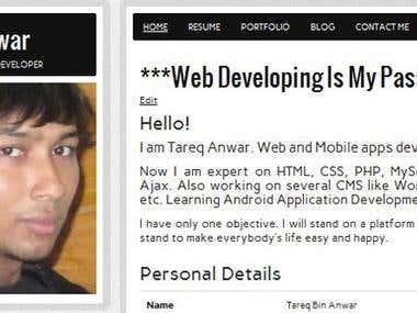 Tareq Anwar's Personal Site