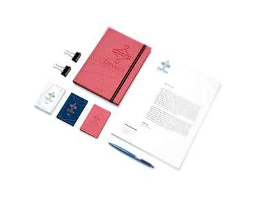 Logo, Identity, branding, web-design, UI/UX
