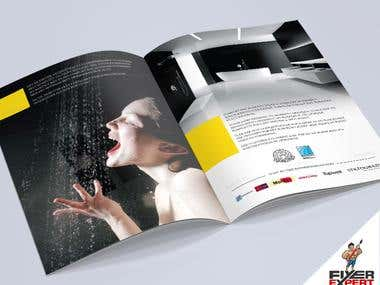 I can design a 4 X A4 pages Bi-Fold Brochure.