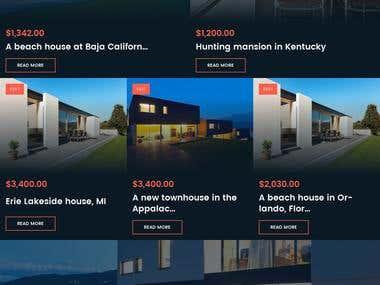 Real Estate Online Portal