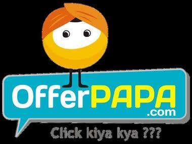 Offer papa