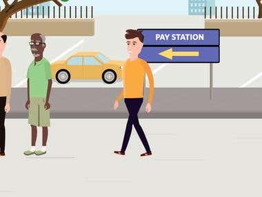 Explainer Video for Easy Park App