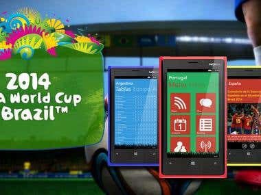 Windows Phone - Football App