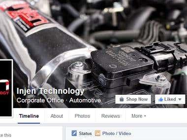 social media marketing for InjenTechnology
