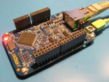 Kinetis ARM firmware and breadboard