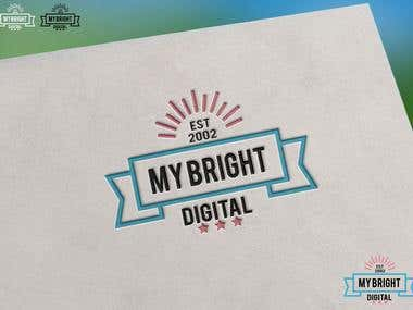 "Logo Design for ""My Bright Digital"""