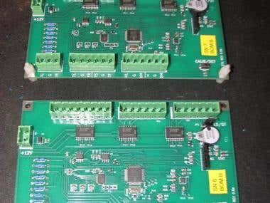 PIC24 breadboard and PCB