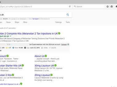 Google site Link Approved