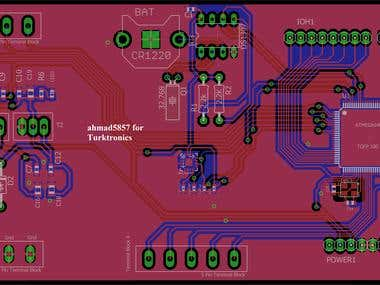 PCB Layout Design for Bike Telemetry System