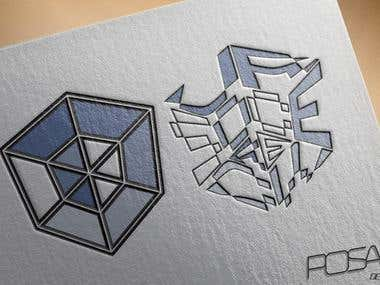 Tesseract logo for Sourcecrew's business branch.