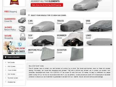 Carautocovers Website