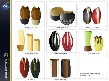 Brochures, Product and Furniture Design