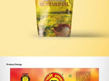 Create Packaging Designs - Hathi Mustard Oil