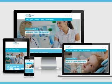 Responsive Redesign of working website
