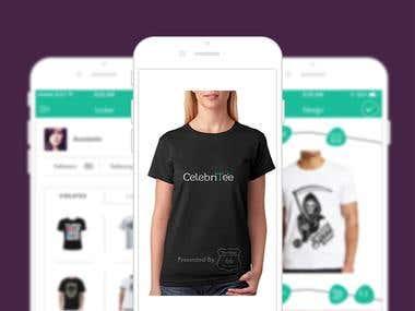T shirt designer app