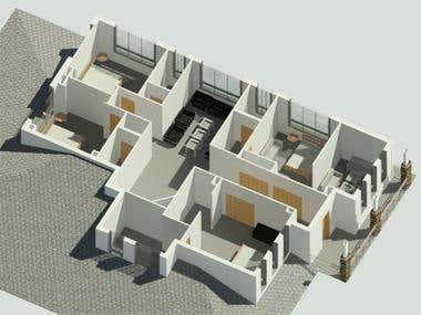 REVIT HOUSE 3D MODELING