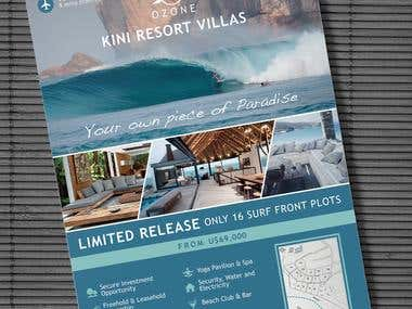 KINI Resort Villas Flyer