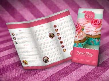 SweetShop Menu