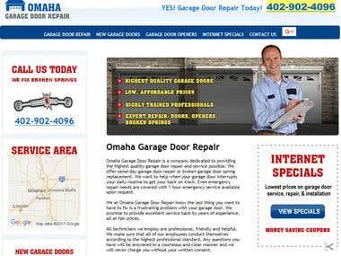 Garage Door Repair (Content Management System)