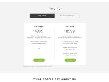 You In You landing Page