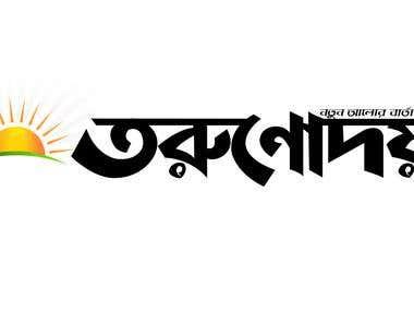 Online News paper logo