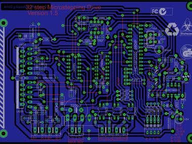 Micro Stepper PCB Design