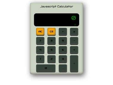 Javascript Web Calculator
