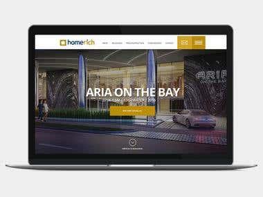 Homerich / Website Inmobiliaria