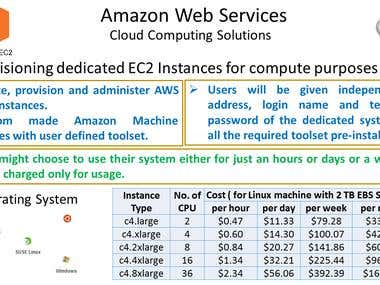 Cloud Computing (Amazon Web Services)