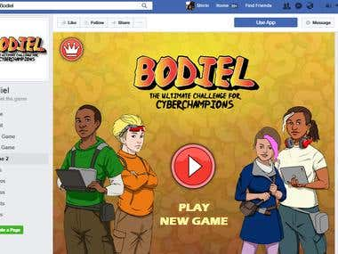 Facebook Game application