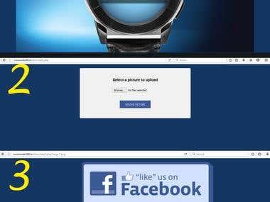 Facebook web Campaign for TITAN