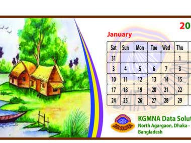 I Can Design A Calender WELL
