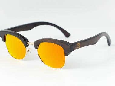 Shoot and editing photos for glasses online store