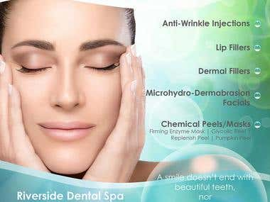 Flyer dental spa...