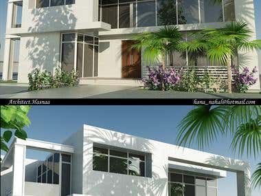 a sample of my exterior and interior designs using 3ds max