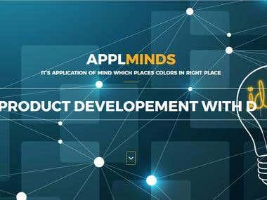 Website Design for Applminds