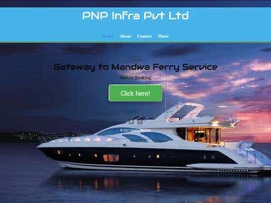 PNP Website Using Html & Css