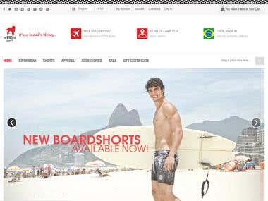Websites on e-commerce Platforms