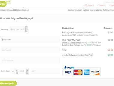 Payment Integration