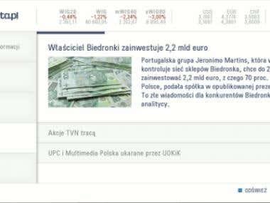 LG Gazeta.pl NetCast application