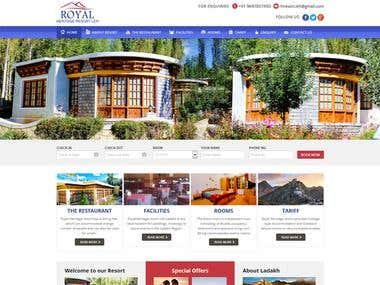 http://www.royalheritageresortleh.com/