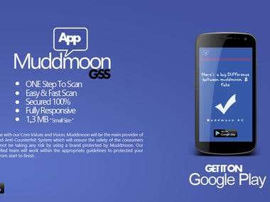 Muddmoon App Design