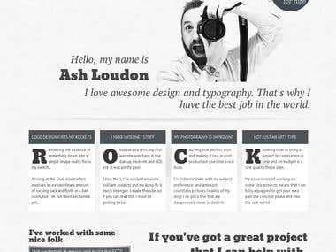 My personal site - ashloudon.me