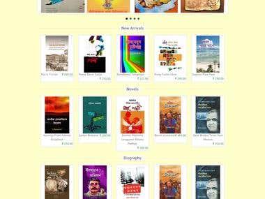 Open cart eCommerce website