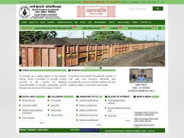 Northeast Coal Website Design